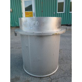 "BASKET HOLES 0.078"" - PRESSURE SCREEN - BIRD M-400"
