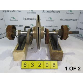 1 OF 2 - ROTATING ASSEMBLY - GOULDS 3405S - 3 x 4 - 12