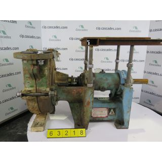 SLURRY PUMP - ALLIS-CHALMERS 3SRL - 3 X 3 - 10
