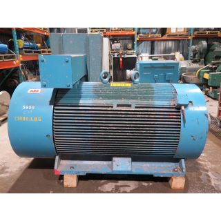 MOTOR - AC - ABB - 800 HP - 600 RPM - 2400 VOLTS