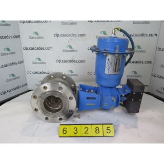"V-BALL VALVE - NELES JAMESBURY R21- 4"" - USED"
