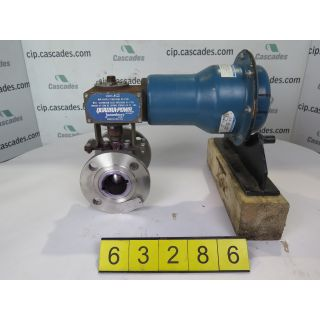 "BALL VALVE - JAMESBURY 5150 - 2""- USED"