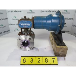 "BALL VALVE - JAMESBURY 5150- 2"" - USED"