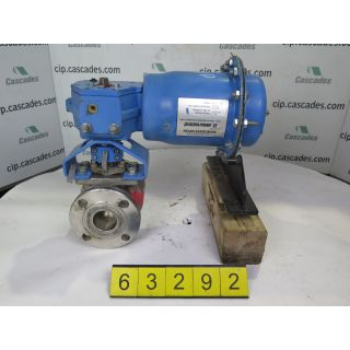 "BALL VALVE - NELES JAMESBURY 9150 - 2"" - USED"