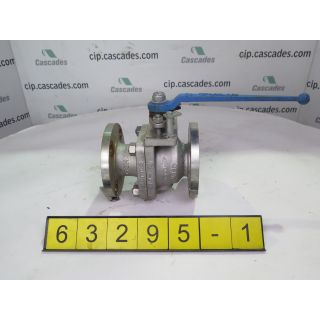 "BALL VALVE MANUAL - VELAN - 2"" - USED"