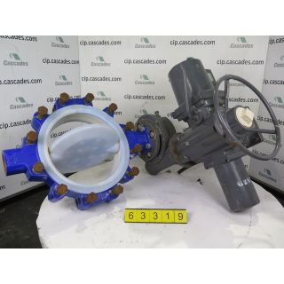 "BUTTERFLY VALVE - AMRI - 14"" - USED"