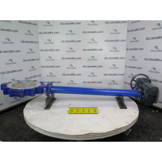 "BUTTERFLY VALVE - AMRI - 10"" - USED"