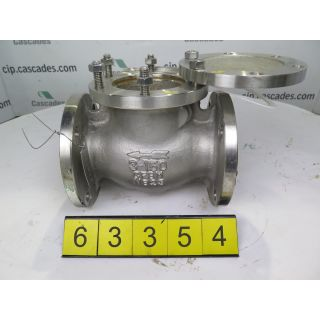 "CHECK VALVE - HAITIMA - 3"" - USED"