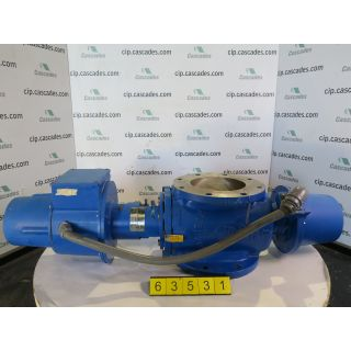 "BASIS WEIGHT VALVE - DEZURIK - PPE - 8"" - USED"
