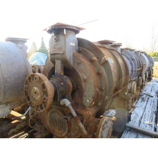 FOR SALE - VACUUM PUMP - NASH CL6002 - DOUBLE EXTENDED SHAFT