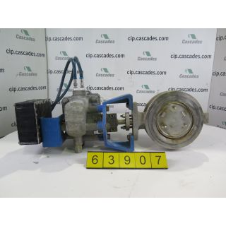 "BUTTERFLY VALVE - JAMESUBRY 815W-11-3600-XZ - 6"" - USED"