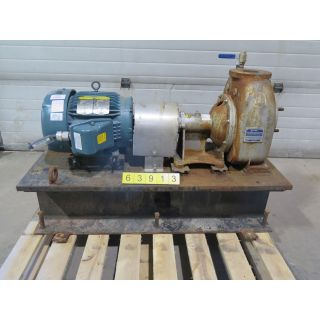 "PUMP - GORMANL-RUPP 03F3-B - 3"" NPT - USED"
