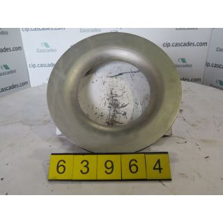 USED - SUCTION SIDEPLATE GOULDS 3175 ST - 6 x 8 - 14 - Item #: 176, Parts #: 104-38-1203 - FOR SALE