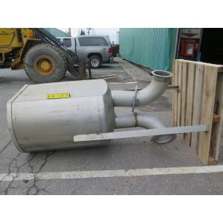 STAINLESS STEEL TANK - ± 150 US GAL
