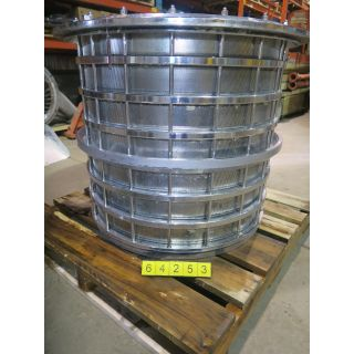 BASKET PRESSURE SCREEN - BELOIT S-32