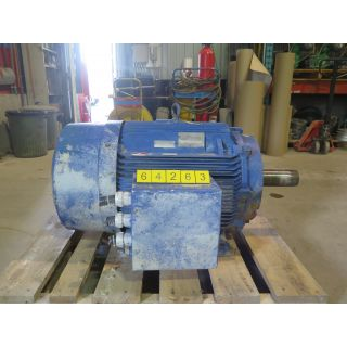 MOTOR - AC - SIEMENS - 100 HP - 1185 RPM - 575 VOLTS