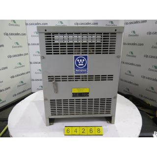TRANSFORMER - WESTINGHOUSE - 25 KVA - 600 VOLTS