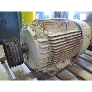 MOTOR - AC - GENERAL ELECTRIQUE - 75 HP - 1800 RPM - 575 VOLTS