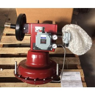 "V-BALL VALVE - MASONEILAN 33-36425 - 8""  NEW"