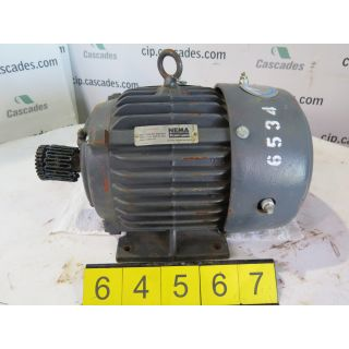 MOTOR - AC - EMERSON - 5 HP - 1800 RPM - 575 VOLTS
