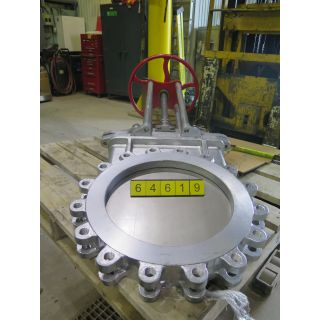 "KNIFE GATE VALVE - 18"" - TRUELINE - MANUAL - RESILIENT SEAT"