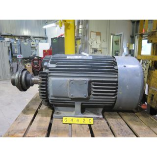 MOTOR- AC - TOSHIBA - 100 HP - 1200 RPM - 575 VOLTS