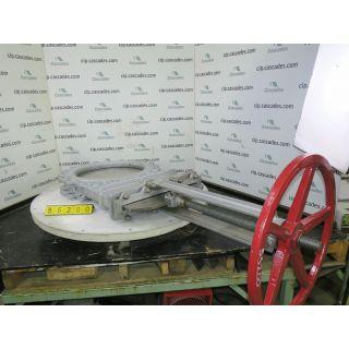 """KGV - 20"""" - VELAN - MANUAL - RESILIENT SEAT"""