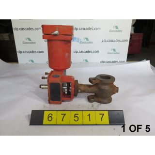 "1 OF 5 - USED ROTARY CONTROL VALVE - MASONEILAN CAMFLEX II 35002 SERIES - MODEL:35-35102 - 2"" - FOR SALE"