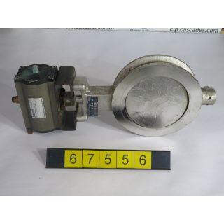 "BUTTERFLY VALVE - POSI-SEAL B-21 HP - 8"" - USED"