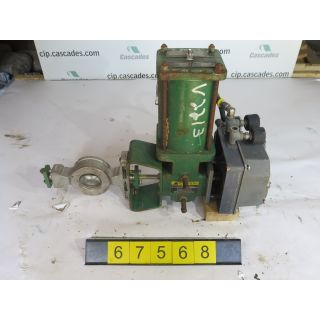 "BUTTERFLY VALVE - FISHER V100 - 2"" - USED"
