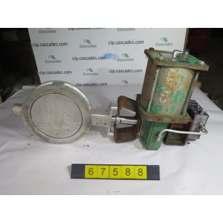 "BUTTERFLY VALVE - POSI-SEAL B21 - 10"" - USED"