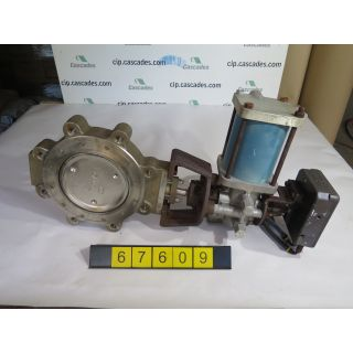 "BUTTERFLY VALVE - JAMESBURY 815W - 8"" - USED"