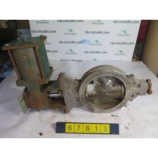 "BUTTERFLY VALVE - FISHER 8510 - 10"" - USED"