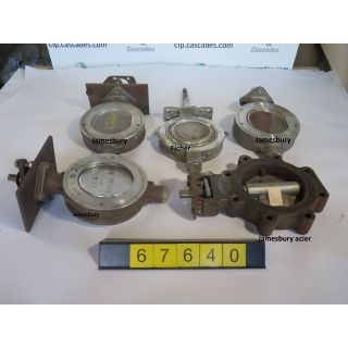 "BUTTERFLY VALVE - 6"" - USED"