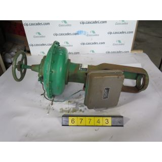 ACTUATOR - FISHER - VFA-654B - USED