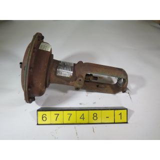 1 OF 2 ACTUATOR - FISHER - 657-ED - USED