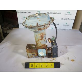 1 OF 3 - ACTUATOR - NELES JAMESBURY - QUADRA-POWR - USED