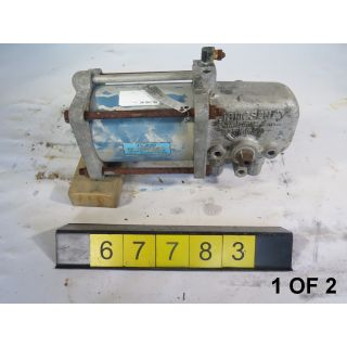 1 OF 2 - ACTUATOR - JAMESBURY - ST-200-B - USED