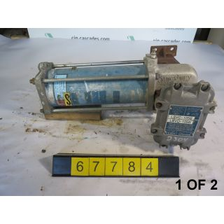 1 OF 2 - ACTUATOR - JAMESBURY ST-60-MSB - USED