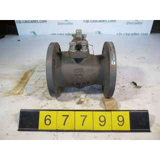 "BALL VALVE - NELES JAMESBURY 7150 - 3"" - USED"