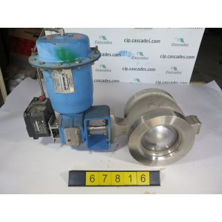 "V-BALL VALVE - NELES JAMESBURY R11 - 8"" - USED"