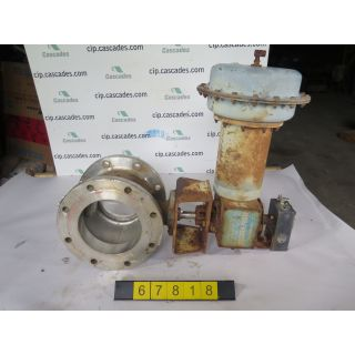 "V-BALL VALVE - NELES JAMESBURY R21 - 8"" - USED"