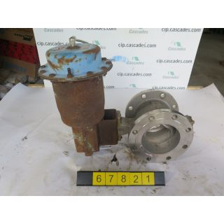 "V-BALL VALVE - NELES JAMESBURY R21 - 6"" - USED"