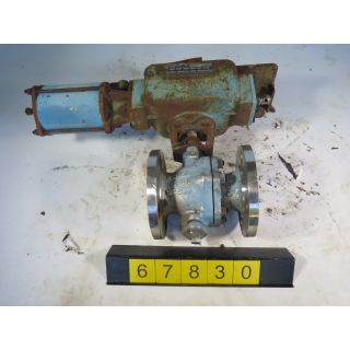 "V-BALL VALVE - DEZURIK 551 - 2.500"" - USED"