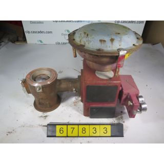 "V-BALL VALVE - MASONEILAN 33-36212 - 4"" - USED"