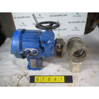 "V-BALL VALVE - NELES JAMESBURY R11 - 4"" - USED"