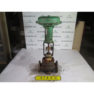 "LINEAR GLOBE VALVE - FISHER ED - 3"" - USED"