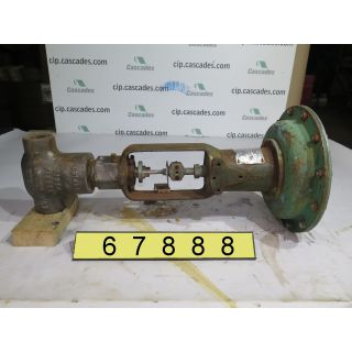 "LINEAR GLOBE VALVE - FISHER - 1"" - USED"