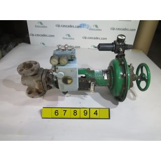 "GLOBE VALVE - FISHER EZ - 1"" - USED"