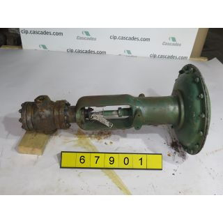 "LINEAR - GLOBE VALVE - FISHER - 1/2"" - USED"